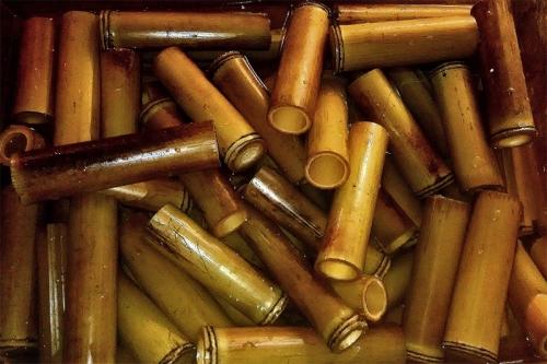 Бамбуковые трубки для сомов cквозные