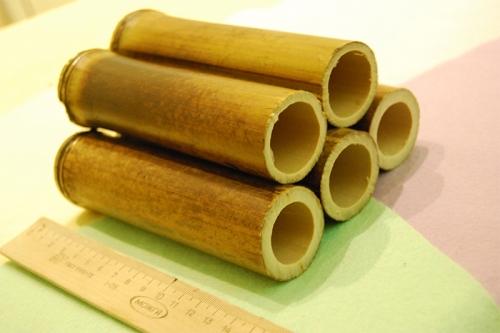 Бамбуковые трубки для сомов глухие
